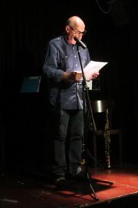 Maarten Struijs draagt voor uit Zwanenvergadering